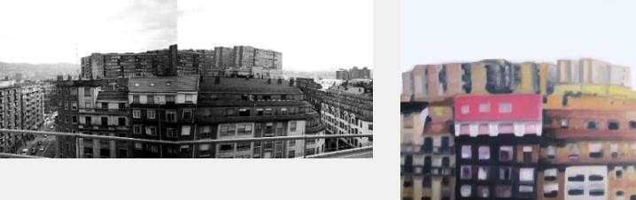 Funcio Pinturas Oleo Bilbao Edificios